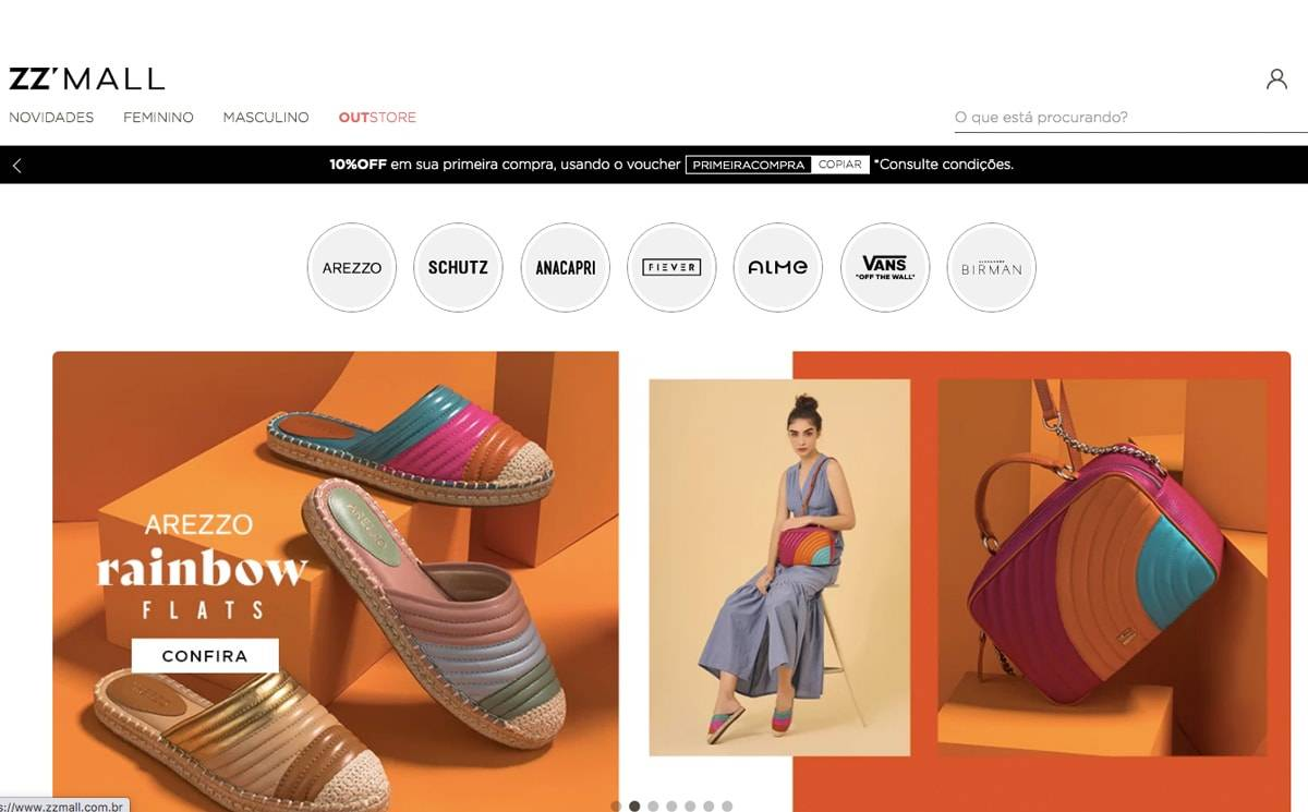 Marina Ruy Barbosa é a nova diretora de moda do ZZ Mall, e