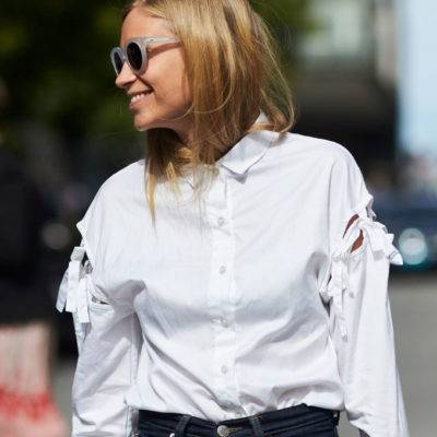 How to wear a white shirt in 2017